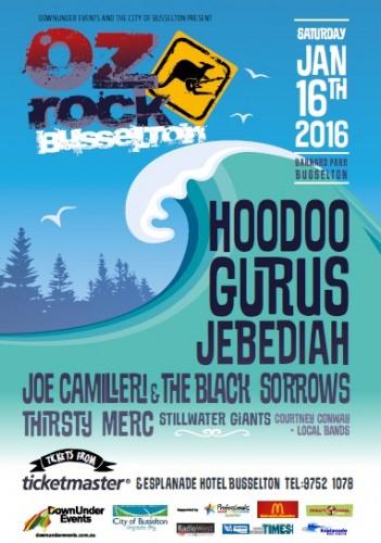 Oz ROCK Jan 16 poster